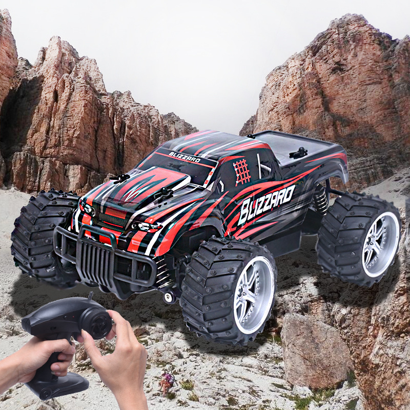 Rc Car 9504 2.4G 1:16 Scale High Speed RC Off-road CarWireless remote control vehicle On The Radio Controlled -Car Toys for gift microgear radio controlled rc grasshopper flying in the air