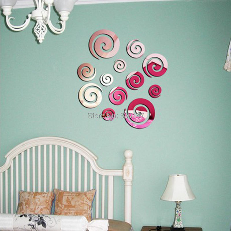 New Arrival Modern Frameless Clouds Circle Home Wall Stickers DIY Decal Living Children Room Bedroom Decor Direct Selling