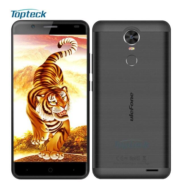 "In Stock Ulefone Tiger 4G Fingerprint 4200mAh OTG 5.5"" Smartphone Android 6.0 MTK6737 Quad Core Cellphone 2GB+16GB Mobile Phone"