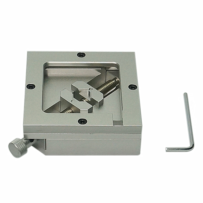 80MM 90MM Silver BGA Reballing Station Stencils Template Holder Foxture Jig For PCB Chip Soldering Rework Repair