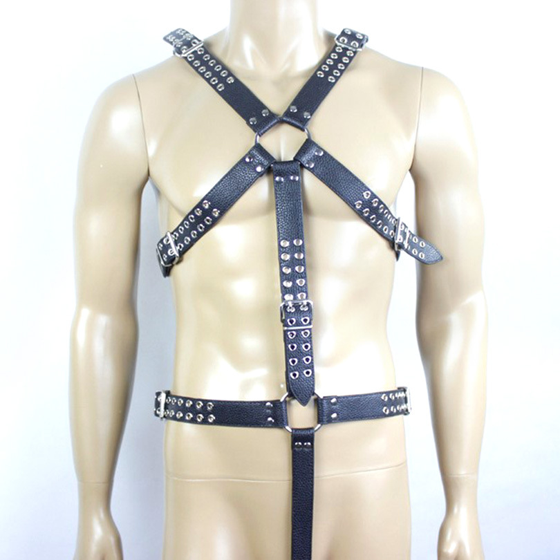 PU leather bondage harnss belt bdsm leather sexy women/men slave fetish wear adult games sex toys for couples maryxiong 69cm pu leather fetish bondage sex whip flogger bdsm sex toy for couples spanking paddle sexy policy knout adult games