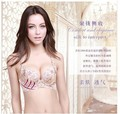The new silk embroidery bra gather together the bra