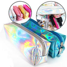 Laser Flare Travel Storage Bag Portable Digital USB Gadget Charger Wires Cosmetic Zipper Pouch Case Accessories Supplies(China)