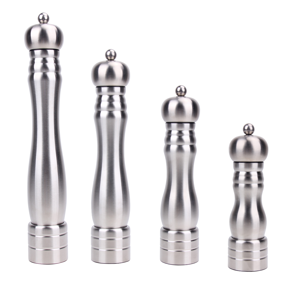 Adjustable Manual Mill Stainless Steel Salt Pepper Grinder For ...