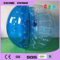 Free Shipping Dia 1.5m TPU Bubble Soccer Football Ball for Children Zorb Ball Inflatable Human Hamster Ball Bumper Ball
