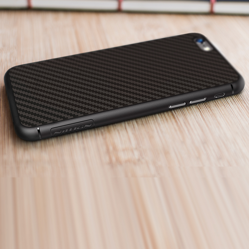 Original Nillkin synthetic fiber phone case for iphone 7 case 4 7 inch Hard Carbon Fiber