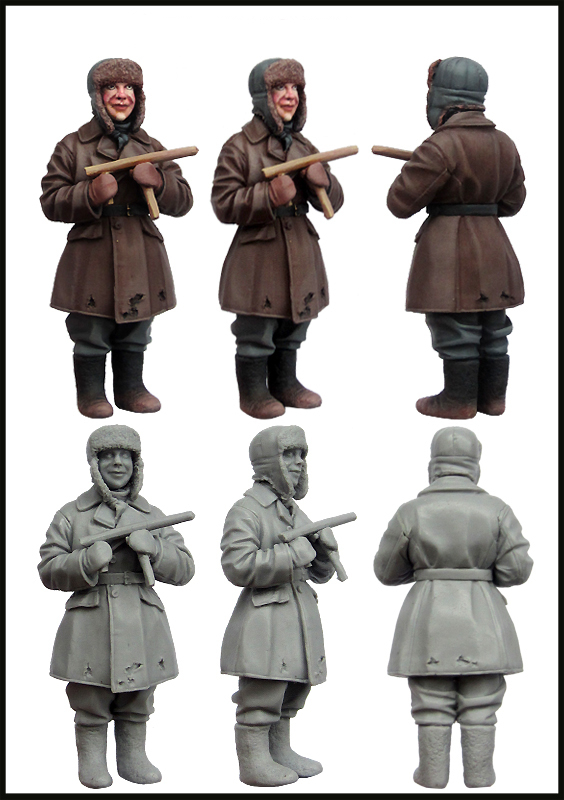 купить pre order-Resin toys Children of War. Set-4 Free shipping в интернет-магазине