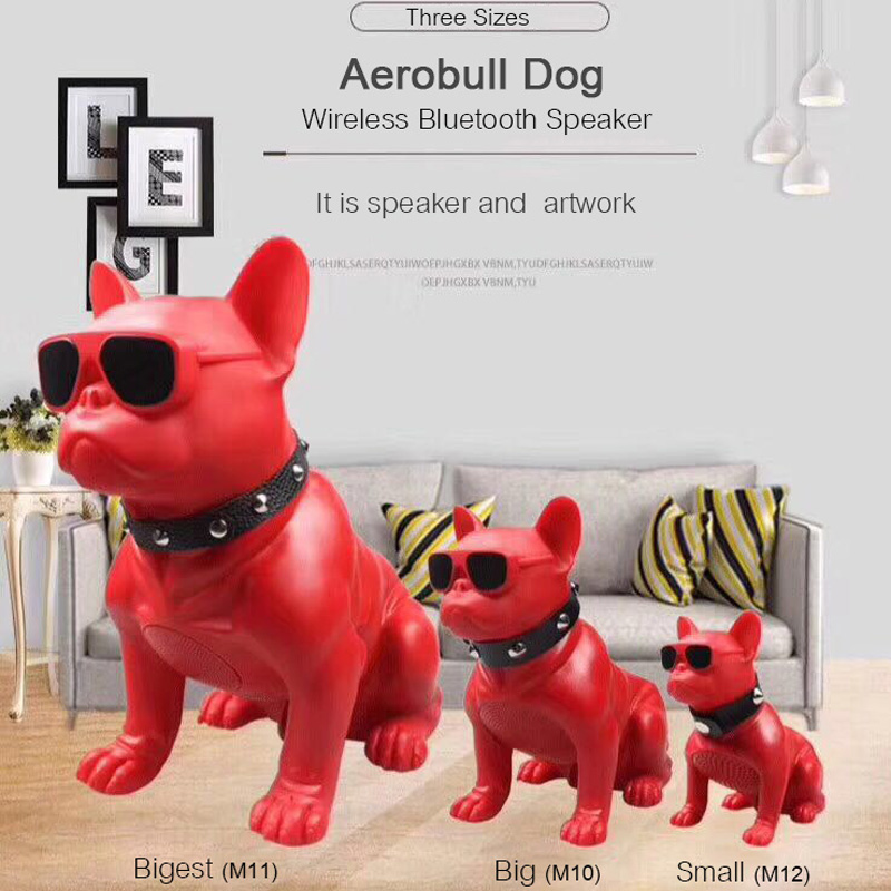 Bigest Full Aerobull Wireless Bluetooth Speaker Big Bulldog Subwoofer Multipurpose Computer PC Speaker MP3 player FM Radio