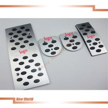 New aluminum car pedal auto foot pedals For Mitsubishi Lancer-ex V3 MT Automatic transmission car foot pedals