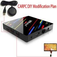 Carpc плеер Android Tvbox с USB gps DIY конверсионный комплект поддержка Touch USB Touch S