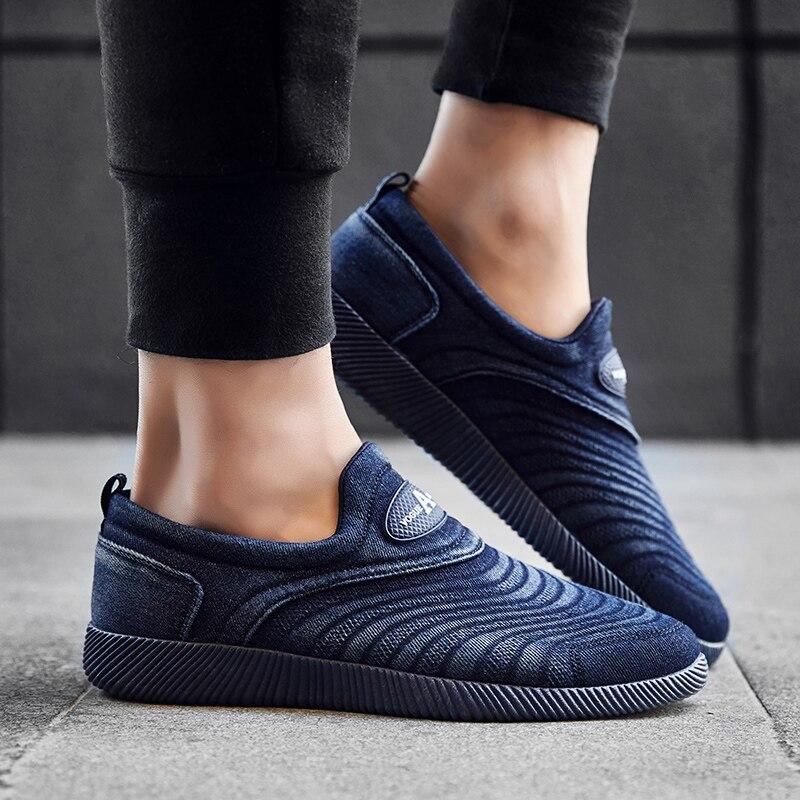 Me Sneakers Toile Confort Plat Denim Haute bleu Mode Hommes Noir Zenvbnv Respirant Qualité Chaussures Casual Krasovki Dentelle up 6wnqUqxRHZ