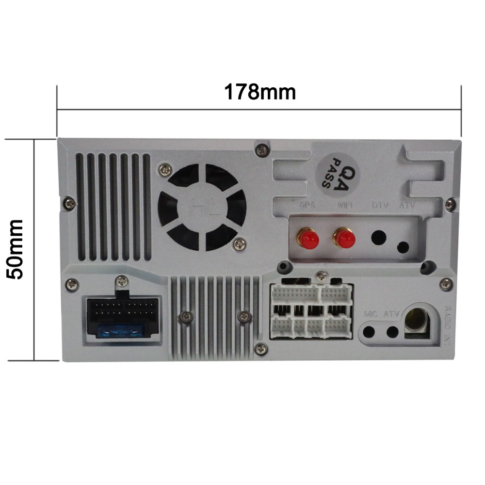 Flash Deal Aotsr Android 8.0 Car DVD Player Headunit For