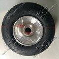 168 go kart 5 inch wheels beach car accessories drift wheel 10X4.5-5 kart tire + highway hub