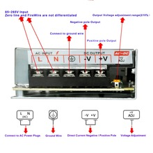 50W Led Power Supply Ac 100-240V to Dc 5V 10A for Led with Ce Rohs Certification