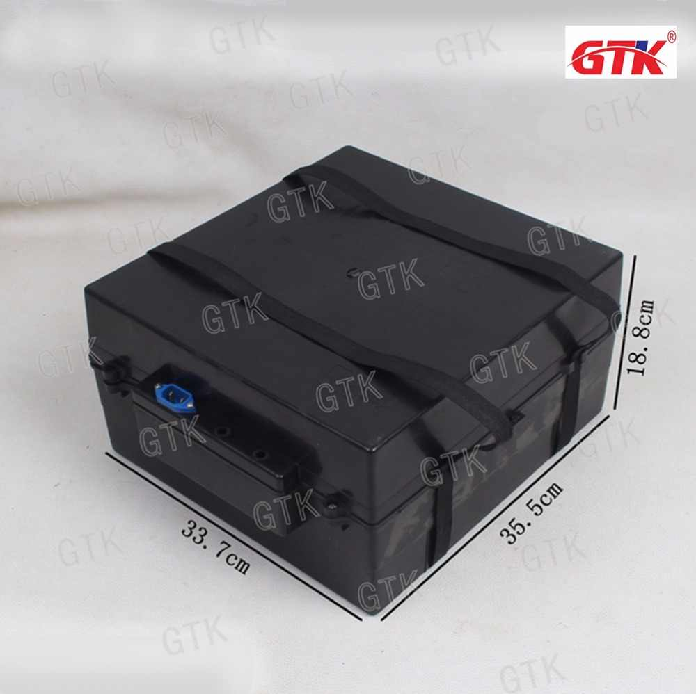 electric scooter tricycle battery box plastic case waterproof case for lithium lifepo4 24v 36v 60ah 48v 30ah battery pack case