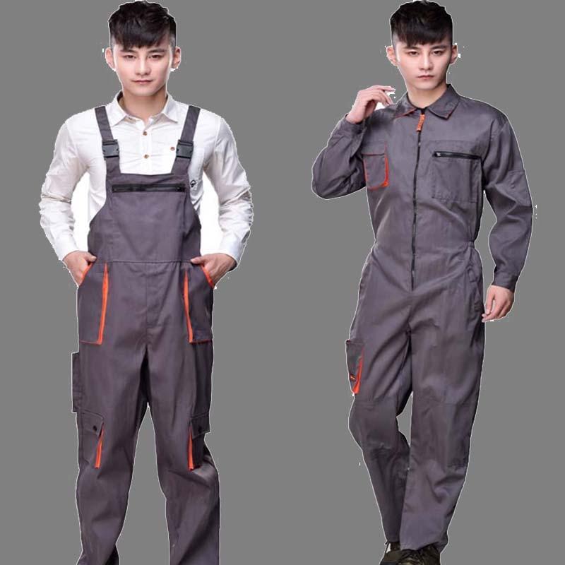 Рабочие комбинезоны мужские женские защитные комбинезоны ремонтник ремень комбинезоны брюки рабочая форма размера плюс комбинезоны без рукавов