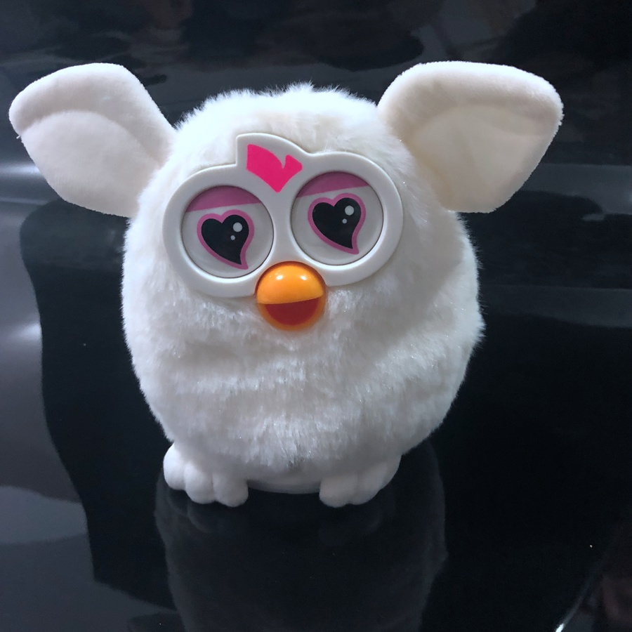 Mit Box Elektronische Haustiere Interaktive Spielzeug Phoebe Firbi Haustiere Eule Elfen Recording Reden Hamster Smart Spielzeug Puppe Furbiness boom