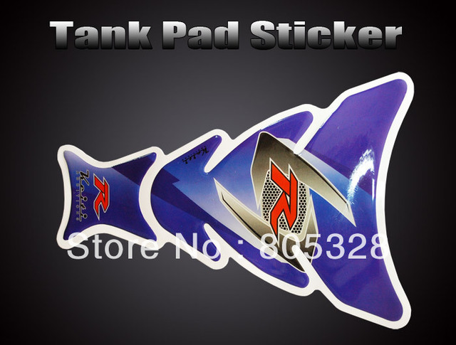 Free Shipping Motorcycle Tank Pad Protector Decal Stickers ST002