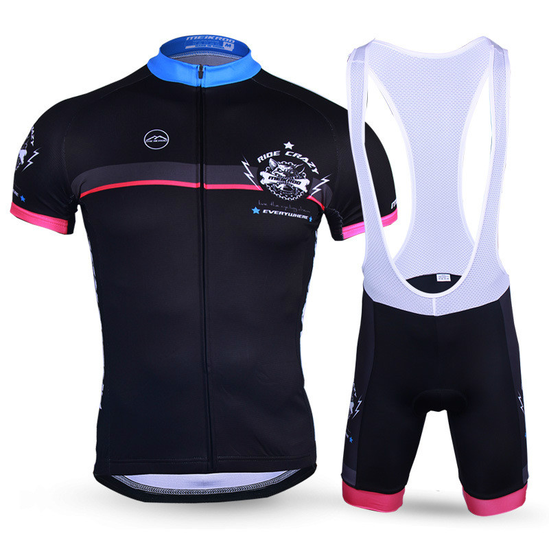 New Arrival Summer Cycling Jersey for Men Cool Dog Pattern MTB Bike/Bicycle Sets Breathable Ropa Ciclismo Short Sleeve Sportwear