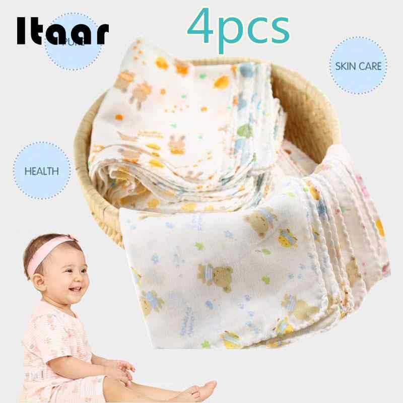 1 шт. детская пеленка детская квадратная хлопковая подкормка салфетки для мытья посуды нагрудники полотенце 31*31