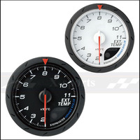 Exhaust temperature meter Advance DEFI CR universal car instrument 2.5 Inch 60mm EXT TEMP gauge White+red light color I