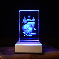 Polar Bear Novelty 3D Night Light Color Changing Novidade LED Lamps For Living Room AAA Battery