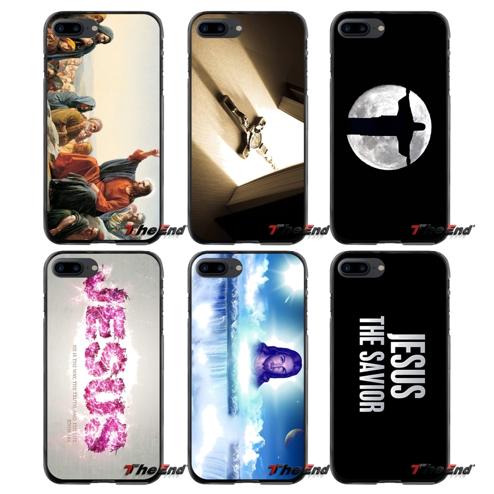 Jesus 3 For Apple iPhone 4 4S 5 5S 5C SE 6 6S 7 8 Plus X iPod Touch 4 5 6 Accessories Phone Cases Covers
