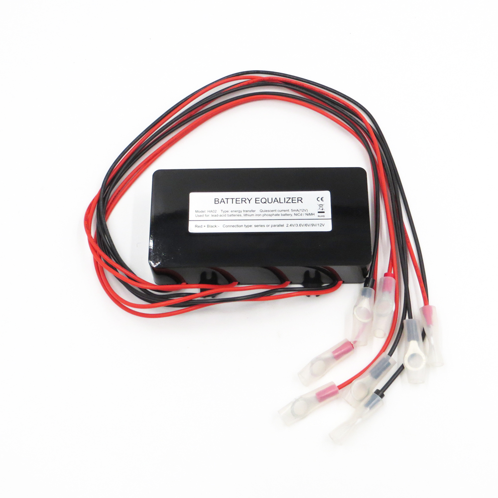 hot sale Battery equalizer <font><b>HA02</b></font> 4 X 12V used for lead-acid batteris Balancer charger for 48V Gel Flood AGM lead acid battery image