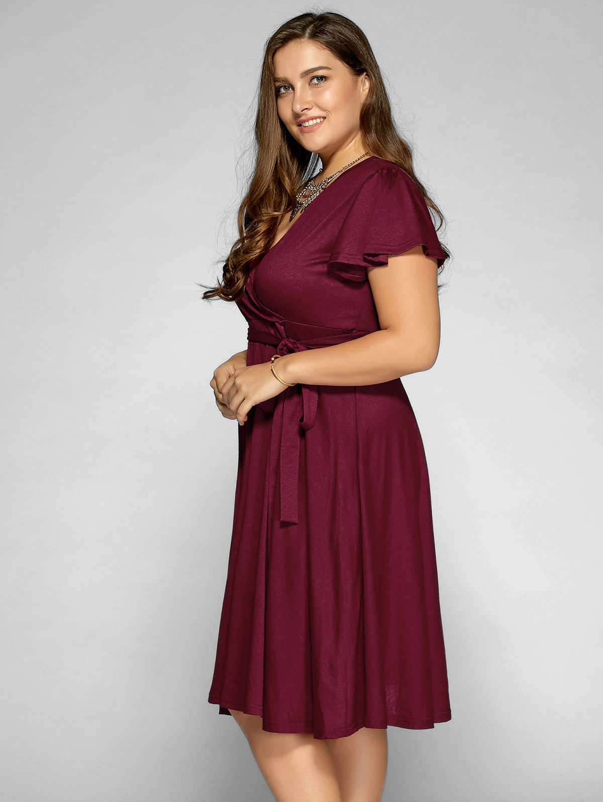 Wisalo плюс размер 9XL 8XL 7XL 6XL женская одежда летнее сексуальное платье с v-образным вырезом винтажная Офисная Рабочая одежда миди платье более размера Сарафан