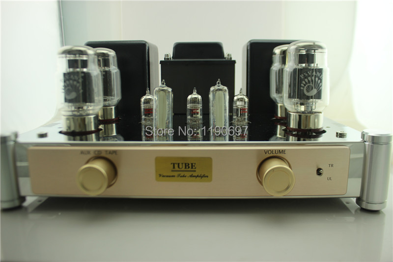 KT88 Tube Amp Push-Pull Class A amplifier Finished Product 12AT7 12AU7 6E2 Tube Hifi Stereo Audio Vacuum Tube Power Amplifer 2pcs lot 12at7 tii hifi tube 12at7 diy