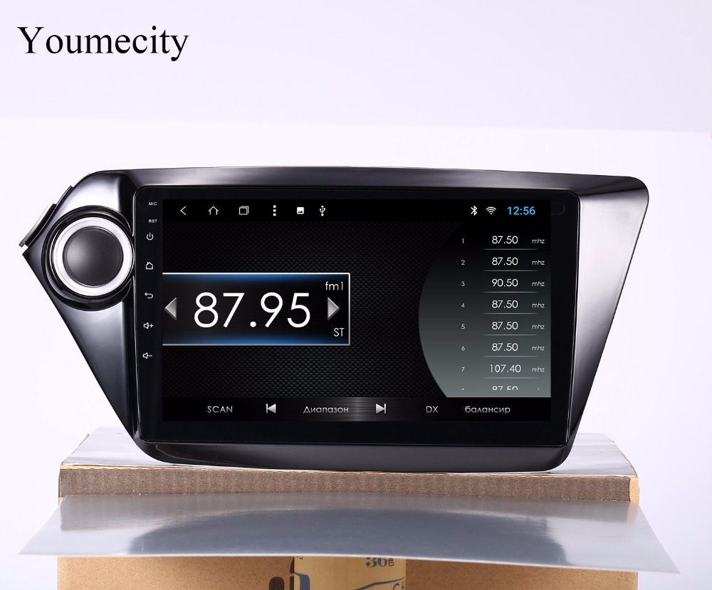 Youmecity 2G RAM 9 inch Octa core Android 8.1 Car dvd gps for Kia k2 RIO 2010 2011 2012 2013 2014 2015 radio video player+32G цена