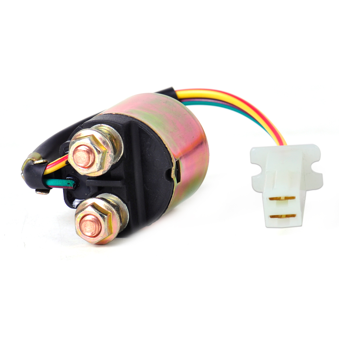 CITALL 1Pc 2 Wire Plug Connection Starter Relay Solenoid 3AY 81940 on 6 wire plug, 2 wire relay, 2wire 12v plug, 2 wire capacitor, 2 wire usb, 2 wire light, 2 wire ring, 2 wire motor, 4 wire plug, 2 wire tubing, 2 wire control, 2 wire connector, wiring plug to plug, 2 wire twist, 2 wire outlet, 2 wire starter, 2 wire pump, 2 wire thermostat, 2 wire coupler, correct wiring of a plug,