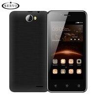 Originele Telefoon SERVO H5 4.5 inch Android 6.0 Spreadtrum7731C Quad Core 1.2 GHz smartphone 5.0MP WCDMA mobiel Multi-taal