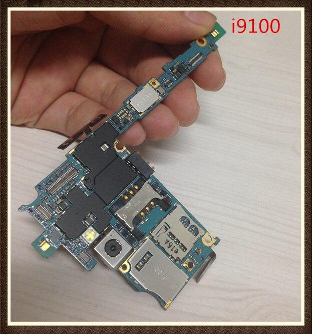 100% funcionamiento desbloquear la placa base Original de buena calidad para Samsung Galaxy s2 i9100 limpiar IMEI envío gratis