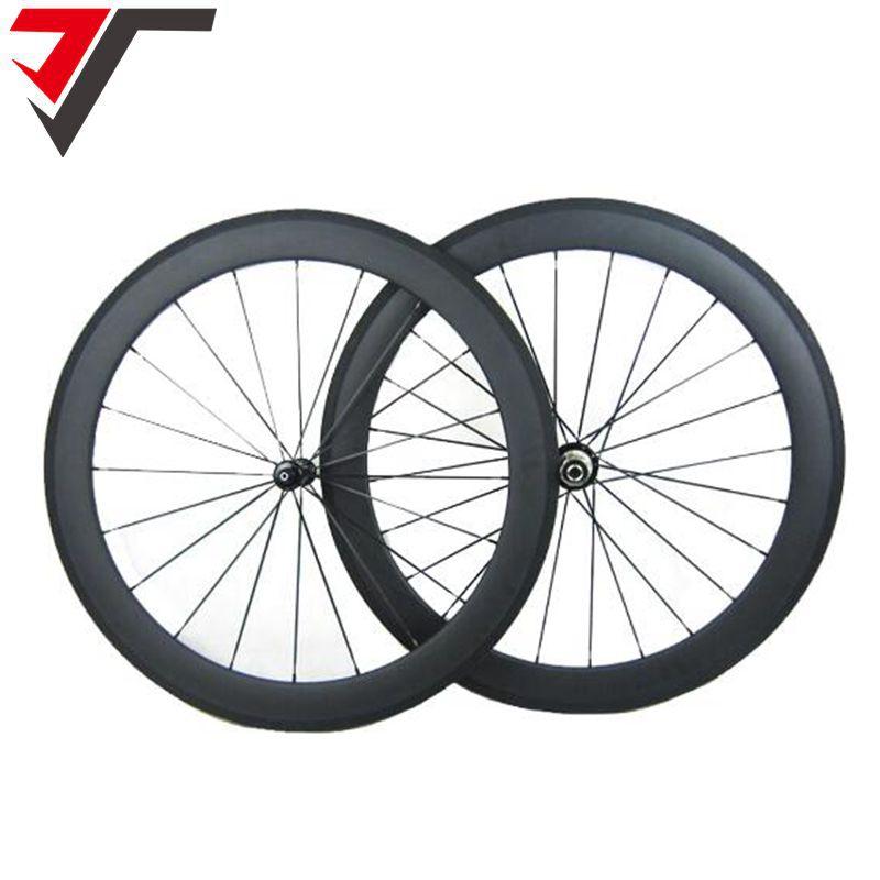 TRIPS carbon bike wheels carbon wheel road bike 700C clincher wheelset R39 Carbon Wheels 50mm tubular