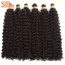 Buy bohemian hair extensions and get free shipping on aliexpress silky strands curly crochet hair extensions bohemian afro ombre braiding hair bulk kanekalon synthetic hair crochet pmusecretfo Gallery