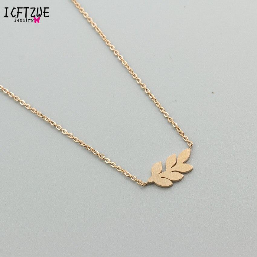 charme primavera ramo árvore folha gargantilha gargantilha colares