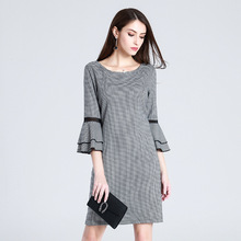 Houndstooth Party Dress