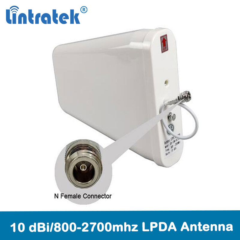 Lintratek 4G Antenna Outdoor 800-2700mhz External LPDA 2g 3g 4g Antenna For Mobile Phone Signal Repeater Booster Amplifier @5