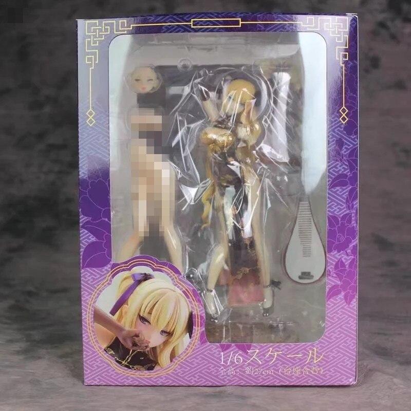 AlphaMax SKYTUBE PVC Action figure Tony STP T2 Art Girls Jin-Lian cheongsam Adult Collectible Model Toy Gift 25cm наклейки tony 2 74 alfa romeo mito 147 156 159 166 giulietta gt