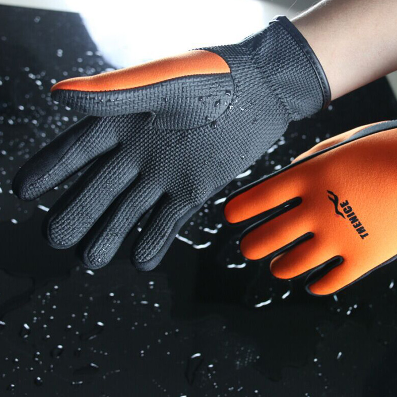 1Pair Wetsuit Neoprene Anti-slip Gloves 1.5mm For Men Women Dive Diving Surfing Swimming FH99