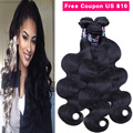 Indian Body Wave 3 Bundle Deals Indian Virgin Hair Body Wave Cheap Virgin Hair Unprocessed Human Hair Bundles Human Hair Weave