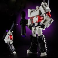 14cm Cool Boy Toy Anime Series Transformation Action Figure Toy Robot ABS Deformation Juguete Model Assembled