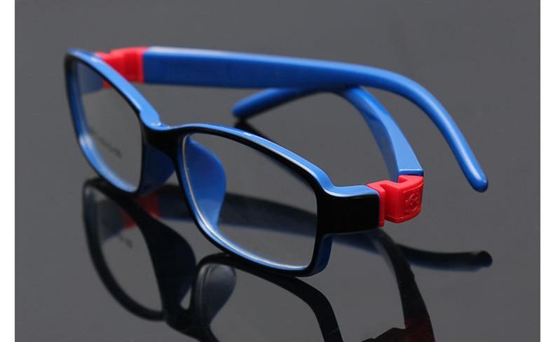 8813 Kid Glasses Rubber Eyeglasses Kids Frames Optical Eyewear for Children No Screw Safe TR Food Grade Myopia Lense