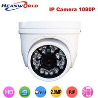 Hot 2 0MP Waterproof Ip Camera 1080P HD Dome Camera Cctv Security Video Monitoring System Onvif