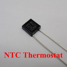 100pcs A5-F 135C 2A 250V degree Thermal Cutoff RH135 Thermal-Links Black Square temperature fuse