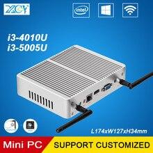 XCY Mini PC Intel Core i3 4010U 5005U 2.0 ГГц Двухъядерные офиса и Дома Мини Настольных Компьютера VGA HDMI WI-FI Windows10 HTPC