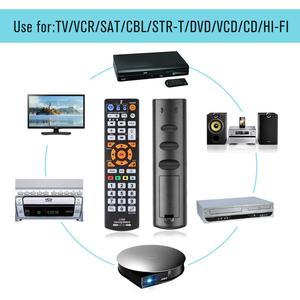 Image 2 - 범용 원격 제어 컨트롤러 tv 용 학습 기능이있는 ir 원격 제어 cbl dvd sat