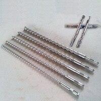 Trasporto libero d18 twist drill bit mano power tool parte Gambo quadrato martello elettrico trapano perforazione per muri di mattoni in calcestruzzo Parete