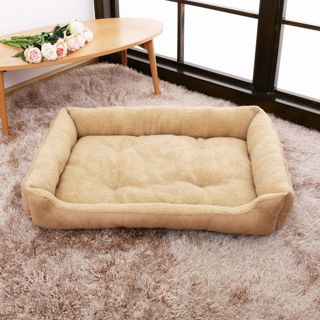 Dog Bed With Side Bumpers